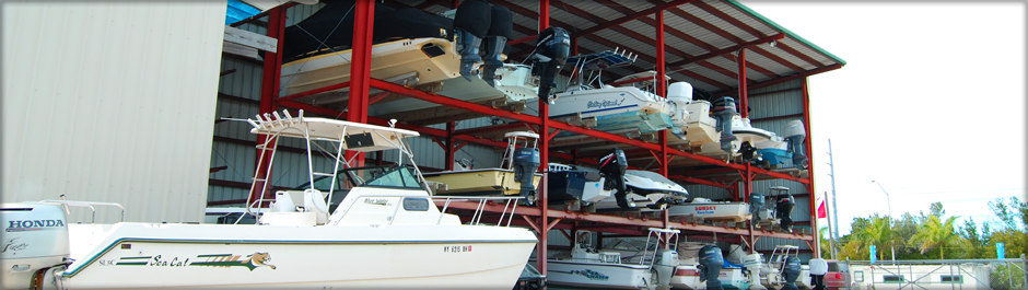 Full-service marina and docking.
